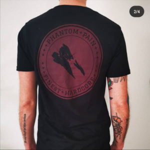 T-shirt Phantom Pain - Finest Hardcore Logo