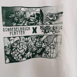 SB & KT TMNT Split Shirt (Bad Print)